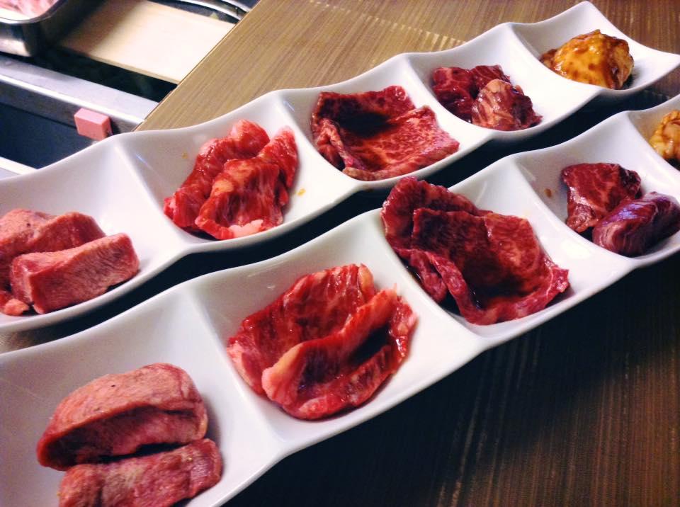 上肉盛り - 焼肉ランチ