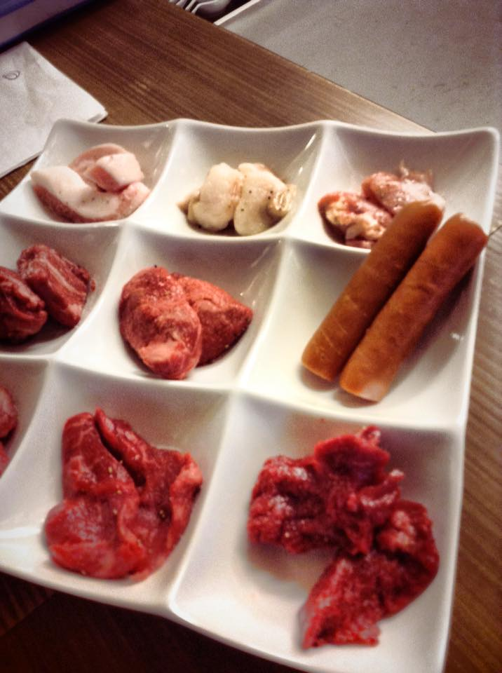 焼肉ミックス盛り 9種類