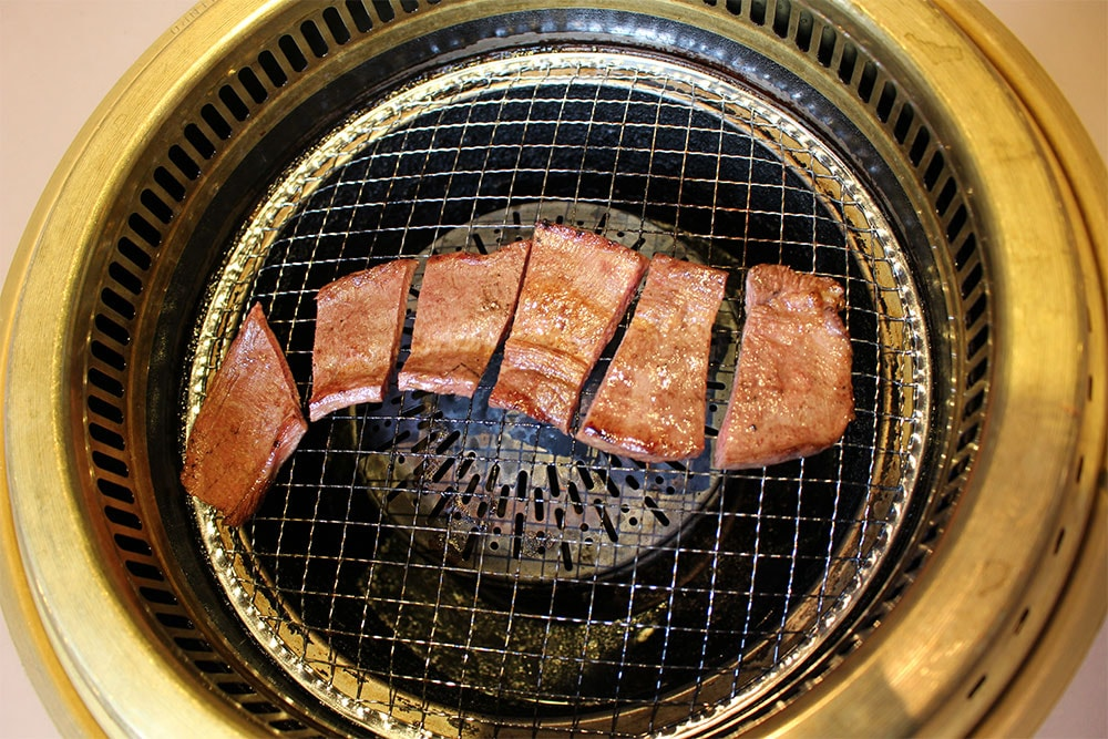 牛タン焼肉